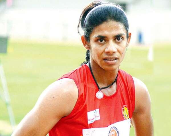 Indian sprinter Nirmala Sheoran
