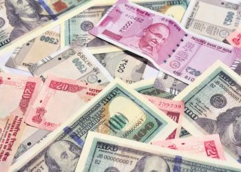 The rupee opened weak at 71.07 at the interbank forex market and fell further to 71.12, down 4 paise over its last close.