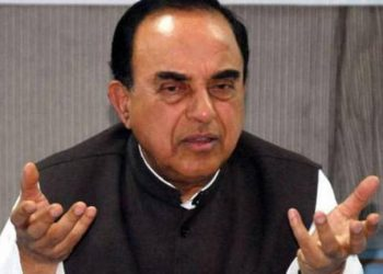 BJP MP Subramanian Swamy