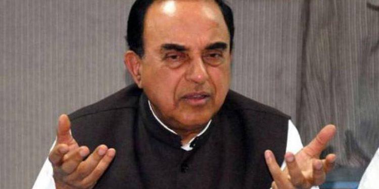 BJP MP Subramanian Swamy