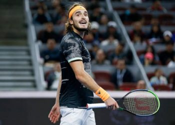 Tsitsipas, who has won two titles this year but lost Sunday's China Open final to Dominic Thiem, still has accounts on Twitter, YouTube and Instagram.