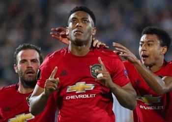 Anthony Martial scored the winner for United.