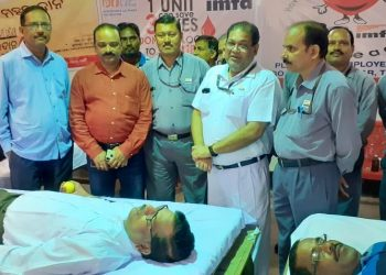 IMFA's blood donation camp held at Therubali