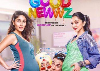 'Good Newwz' posters out; Akshay, Kareena, Diljit and Kiara ready to rock 2019
