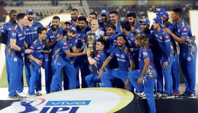 IPL 2019 champions Mumbai Indians