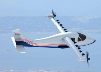 NASA showcases its first all-electric aircraft