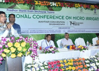 National conference on micro irrigation held in Bhubaneswar