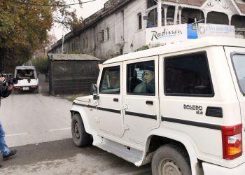 Political prisoners in Srinagar being shifted
