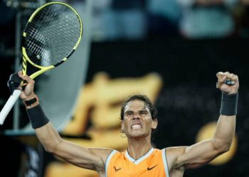 Rafa Nadal on top of the tennis world again