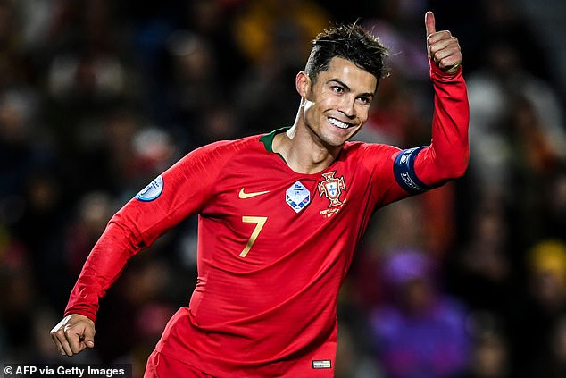 Cristiano Ronaldo registered the 55th hat-trick of his career, Thursday