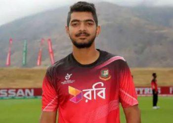 Bangla opener Saif Hassan