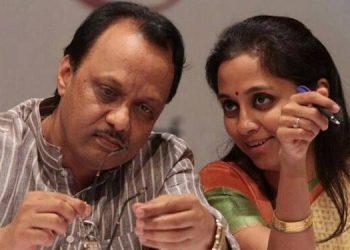 Ajit Pawar and Supriya Sule