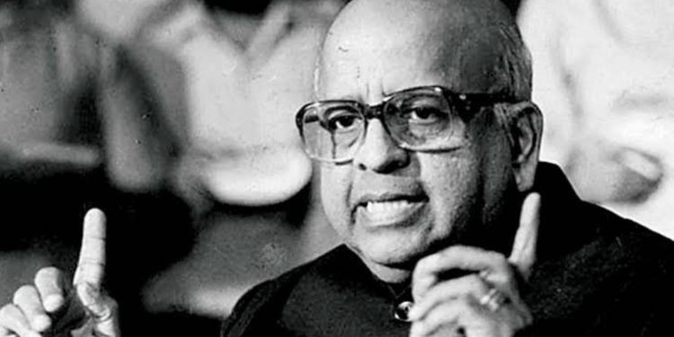 File photo of former CEC TN Seshan