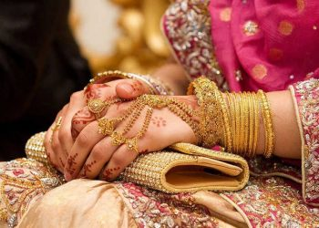 Here groom has to donate for education in order to get a bride
