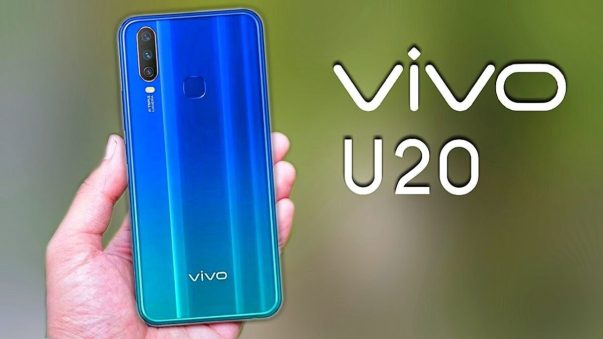 Vivo U20 with 5000mAh battery launched in India