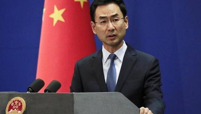Spokesman of the Chinese Foreign Ministry Geng Shuang