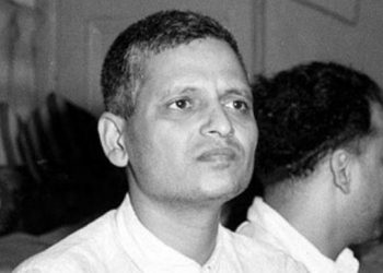 Nathuram Godse murdered Mahatma Gandhi January 30, 1948 in New Delhi.
