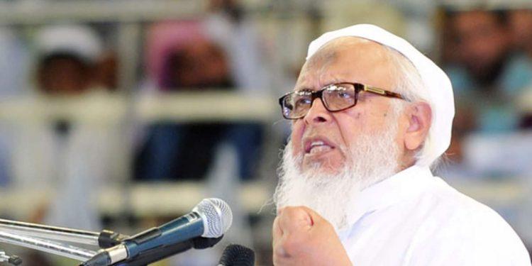 Jamiat Ulama-i-Hind president Maulana Syed Arshad Madani.