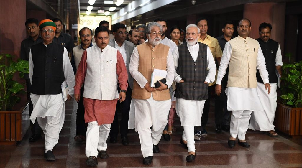 Besides Modi, the all-party meeting was also attended by BJP chief Amit Shah and several senior opposition leaders.