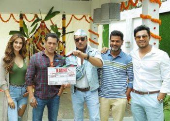 Salman Khan begins Radhe shoot