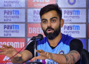 Hyderabad: Indian cricket captain Virat Kohli addresses a press conference ahead of India's T20 match against West Indies, in Hyderabad, Thursday, Dec. 5, 2019.