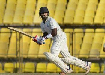 CR Gnaneshwar remained unbeaten on 74