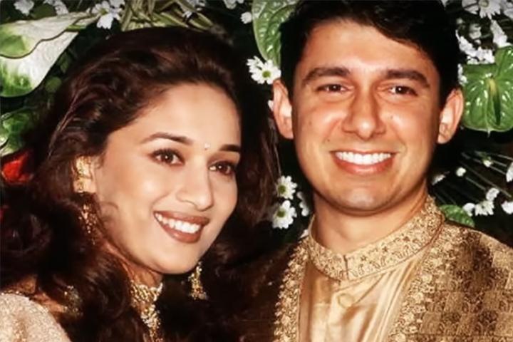 Madhuri Dixit and Shriram Nene