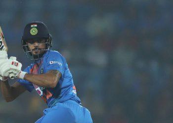 Manish Pandey hit an unbeaten 45-ball 60