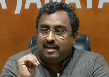 BJP general secretary Ram Madhav