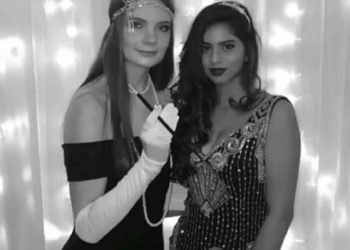 Suhana Khan looks gorgeous in pre-Christmas party look; See pic