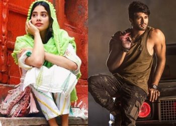 Janhvi to get whopping Rs 3.50cr to star in Vijay Deverakonda's Fighter