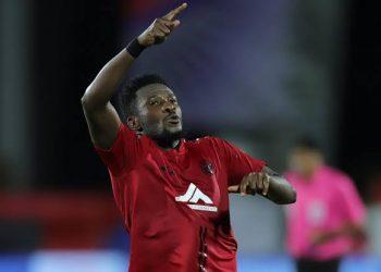 NorthEast United FC's Asamoah Gyan