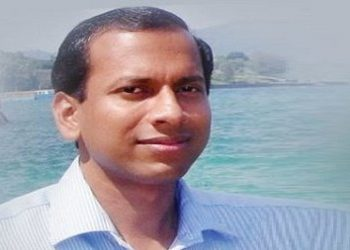 File photo of IAS officer Bijay Ketan Upadhyaya