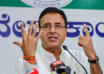 Congress chief spokesperson Randeep Singh Surjewala