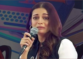 Dia Mirza trolled for breaking down at Jaipur Lit Fest