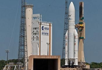 Ariancespace getting ready to launch India's GSAT 30 satellite