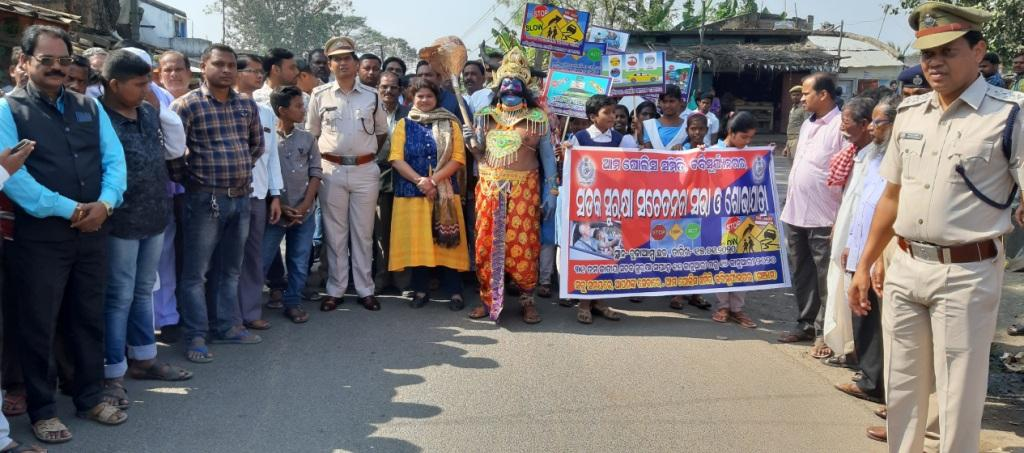 Spurt in road mishaps in Ganjam
