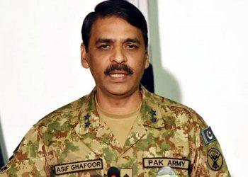 Pakistan Army spokesman Maj Gen Asif Ghafoor