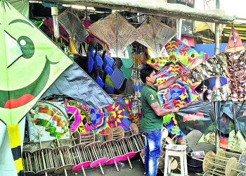 Makar Sankranti: Kite flying in Cuttack