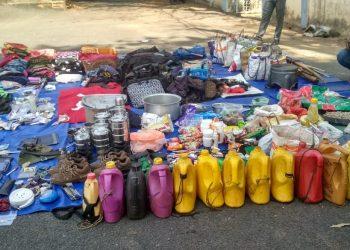 Police, Maoists exchange fire