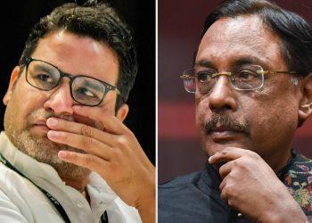 Prashant Kishor and Pavan Varma