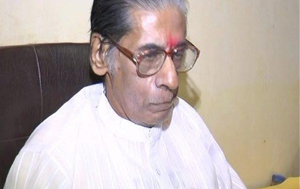 Former MP Gopinath Gajapati Narayan Deo breathes his last
