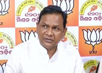 File photo of BJP leader Pradipta Kumar Naik