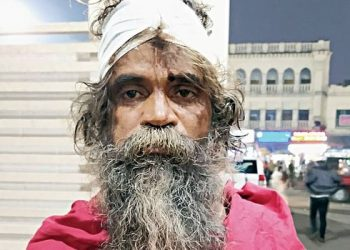 This beggar in Puri claims to be a BTech graduate