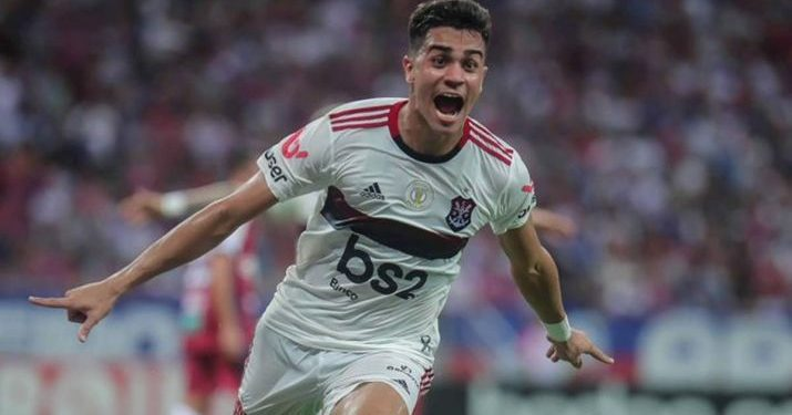 Brazilian footballer Reinier