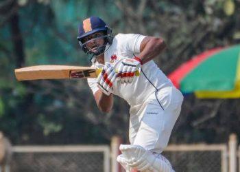 Sarfaraz Khan scored an unbeaten 71
