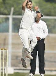 Left-arm spinner Tinu Kundu