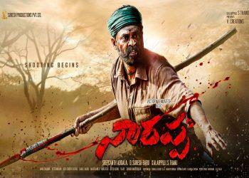 Venkatesh begins shoot for 'Asuran' Telugu remake