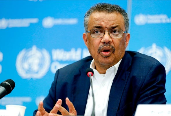 Image result for Tedros