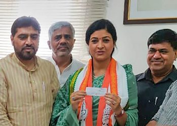 Alka Lamba, who switched over from AAP, has been fielded from Chandni Chowk constituency
